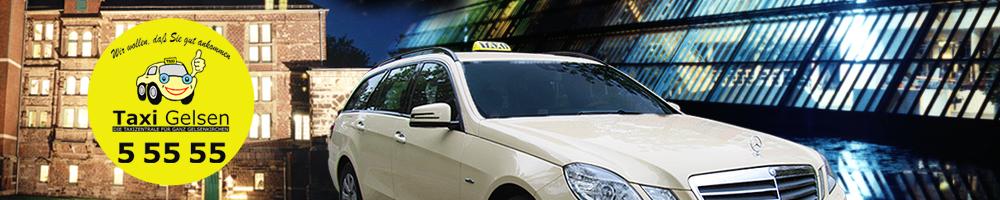 Taxi Gelsen - Die Taxizentrale für ganz Gelsenkirchen